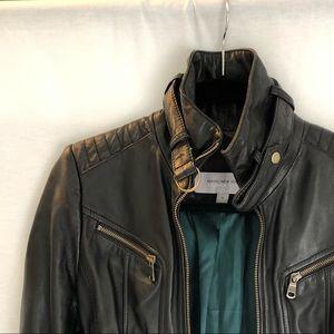 Marc New York Andrew Marc / Leather Moto Jacket
